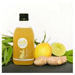 Kombucha llimona i gingebre (250 ml)
