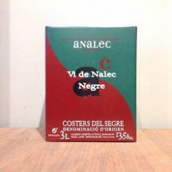 Baig in box negre ANALEC (3L)